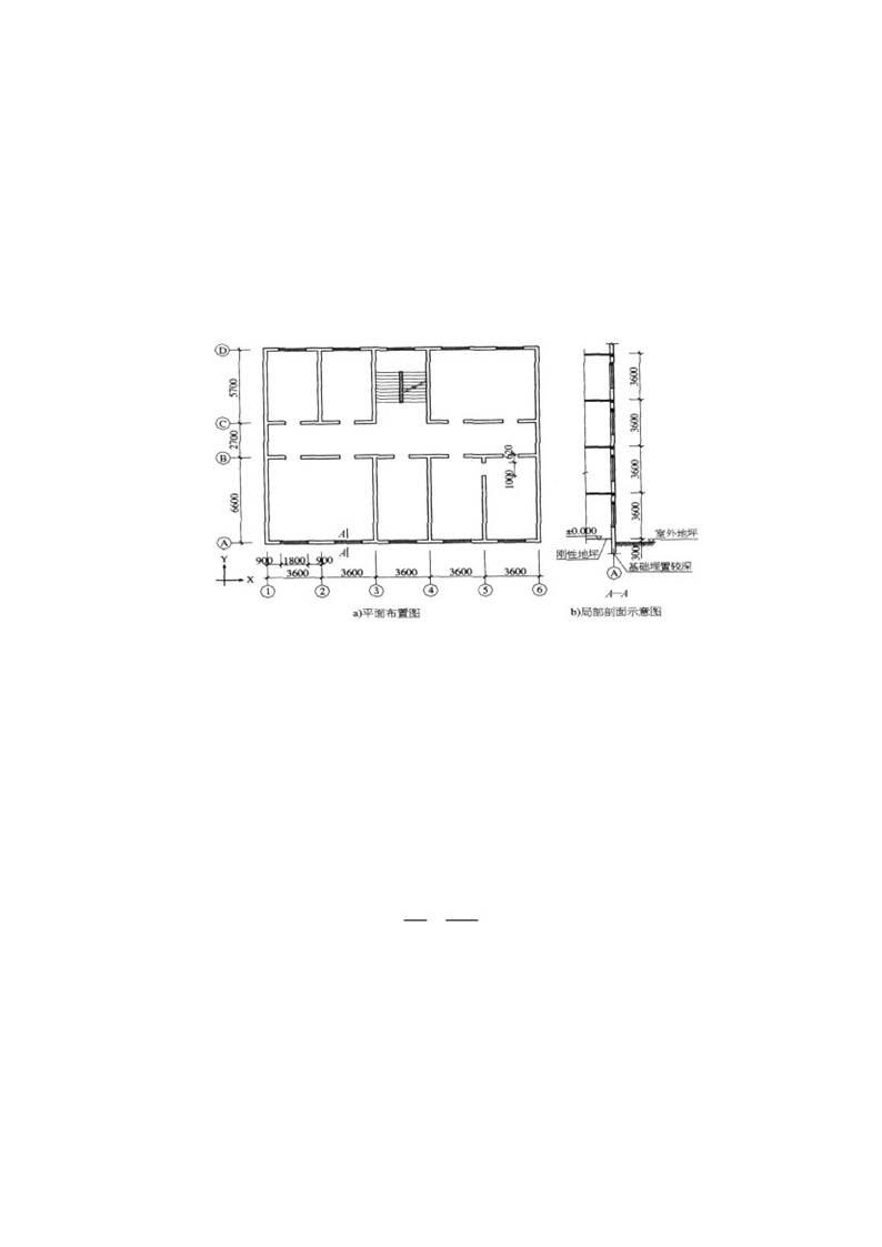 【解析】根据《砌体结构设计规范》(gb 50003—2011)第 3.2.